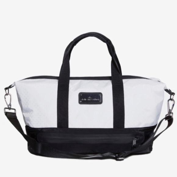 8e9438e83c49 Adidas by Stella McCartney Handbags - Adidas by Stella McCartney white gym  bag